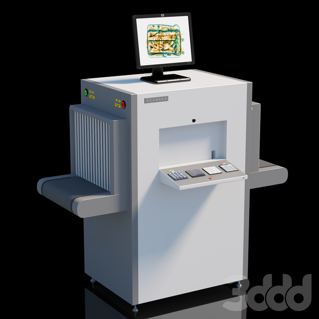 Baggage And Parcel Scanner
