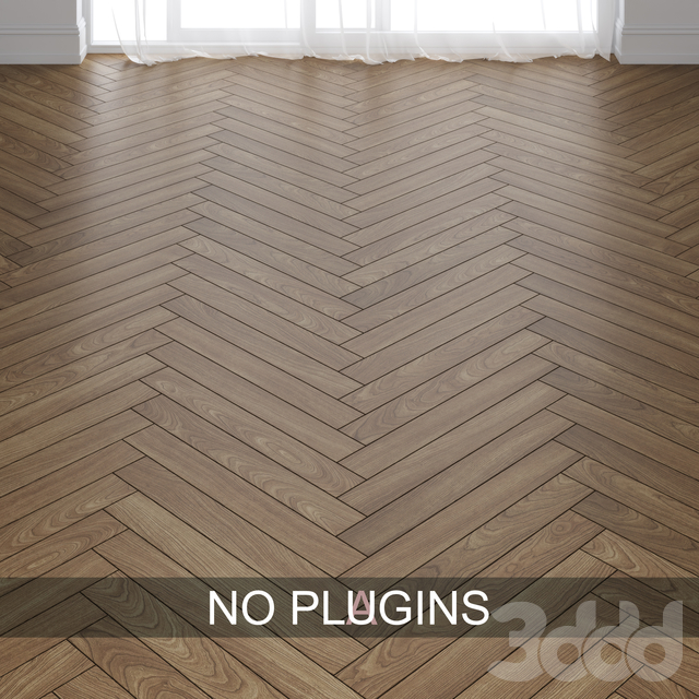Ash Wood Parquet Floor Tiles vol.003