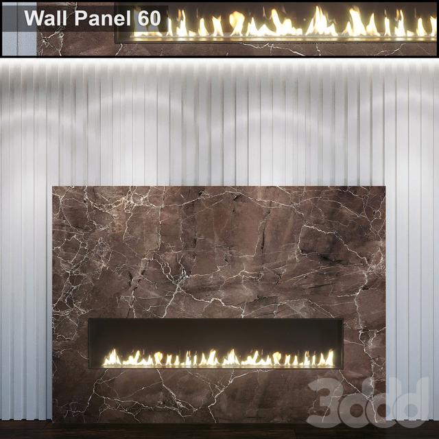 Wall Panel 60. Fireplace