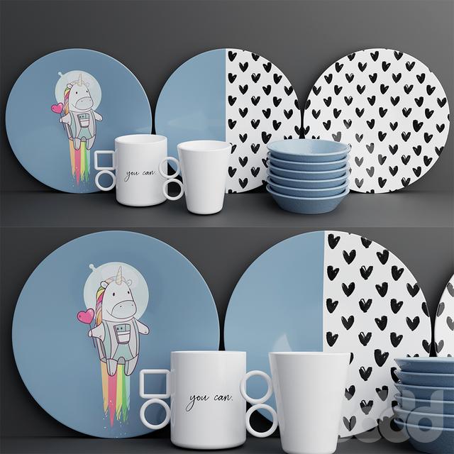 Набор посуды | Dishes set 1