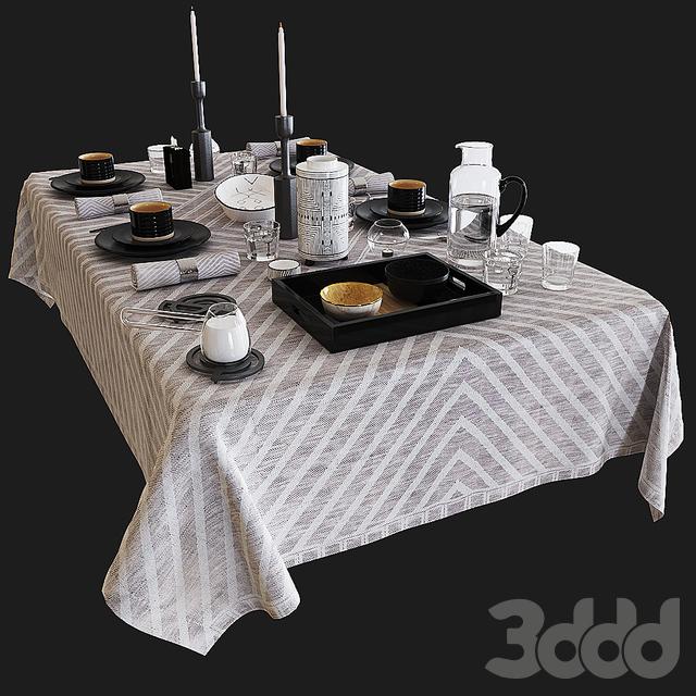 Zara table set