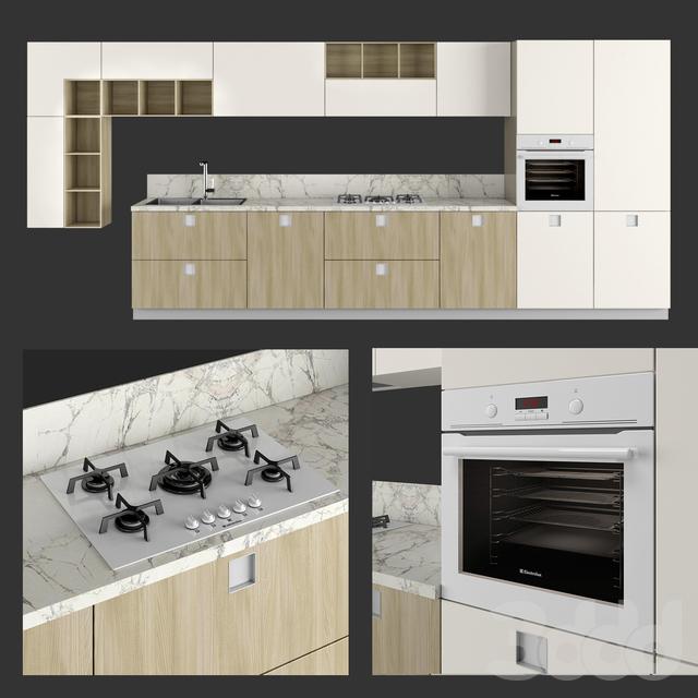 Кухня Composit Quadra