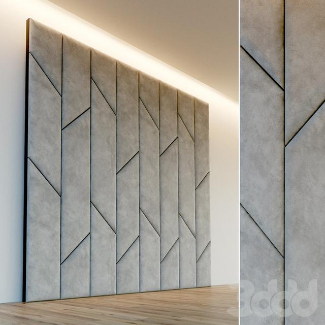 Декоративная стена. Мягкая панель. 56