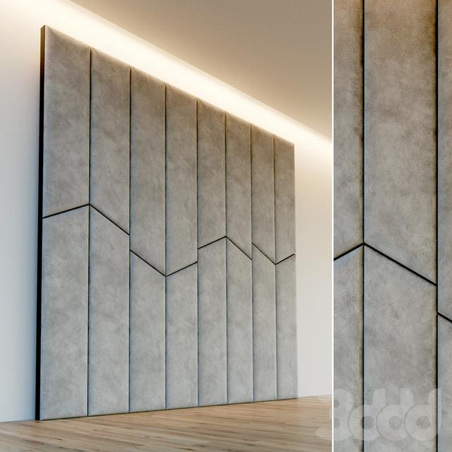 Декоративная стена. Мягкая панель. 58