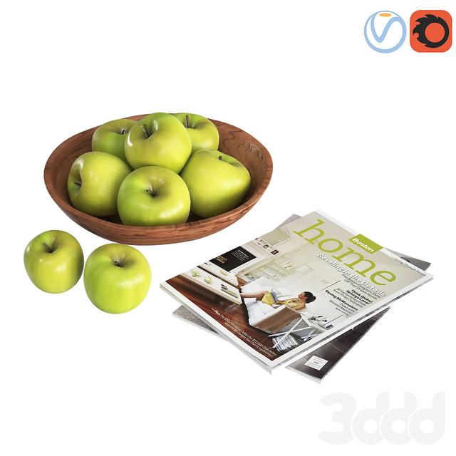 Fruit Bowls Green apples
