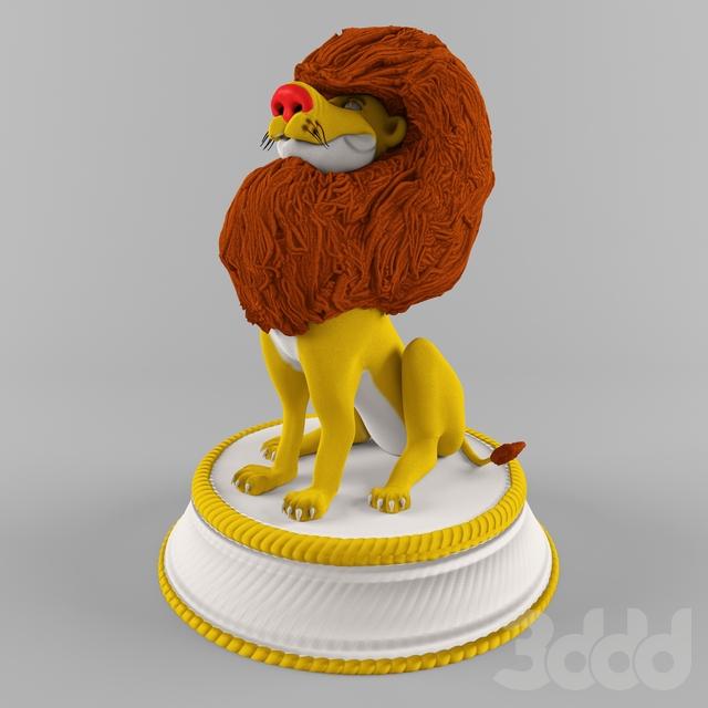 Цирковой лев