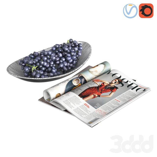 Fruit Bowl Grapes