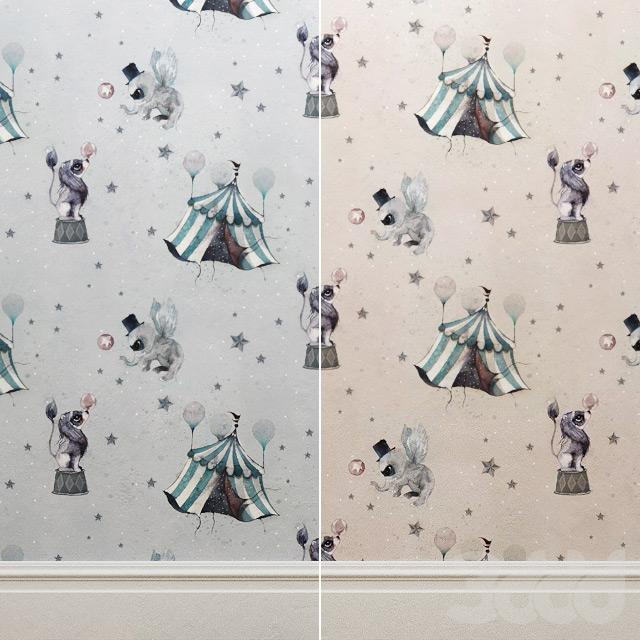 Wallpaper Mrs Mighetto Circus