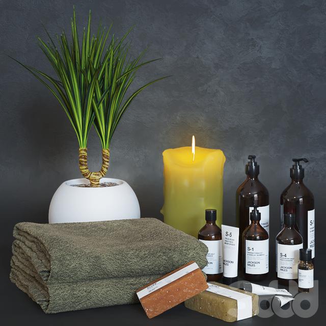 Декоративный набор для ванной 10