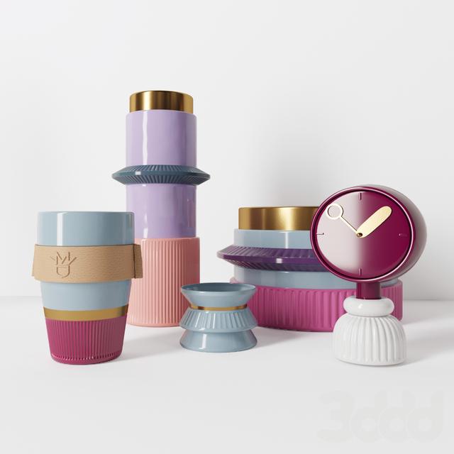 La manufacture du design Ceramic Set
