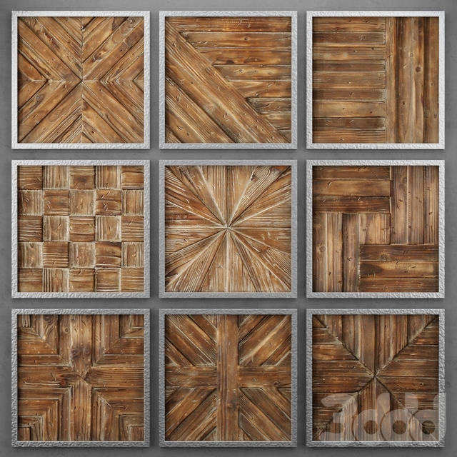 Деревянные панели от Uttermost