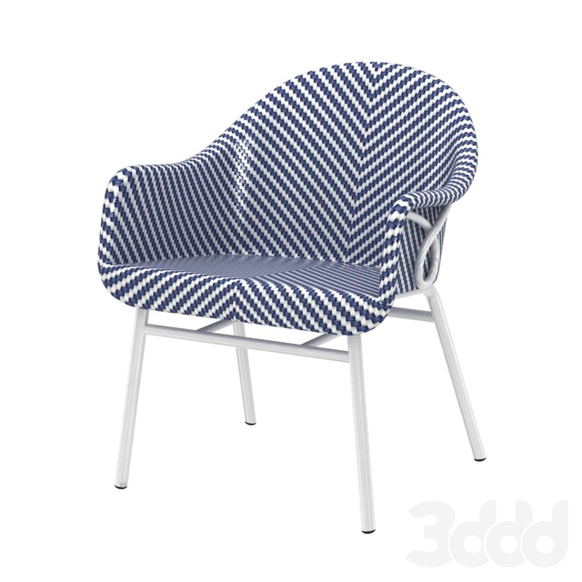Palecek abigal outdoor occasional chair 3d model