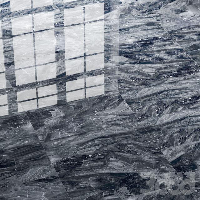 Керамогранитная плитка Villeroy & Boch Timbre Dark темно-серая