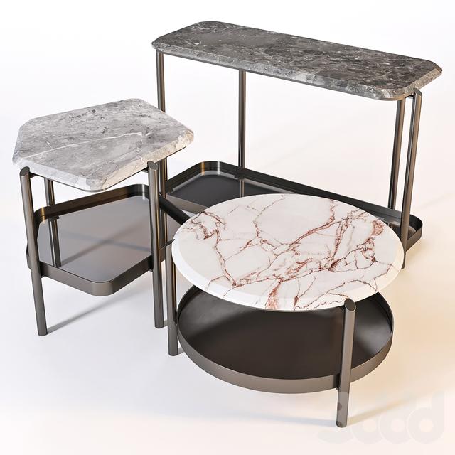 Giorgetti: Coffee Table - Skyline Set 01