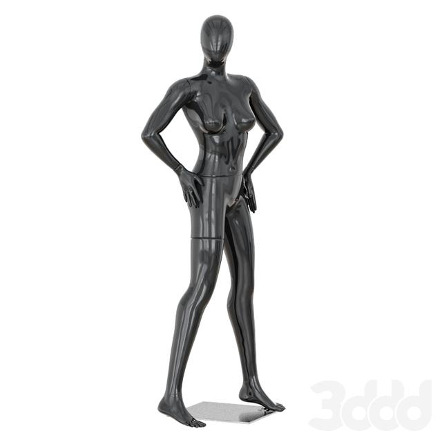 Faceless woman mannequin 37