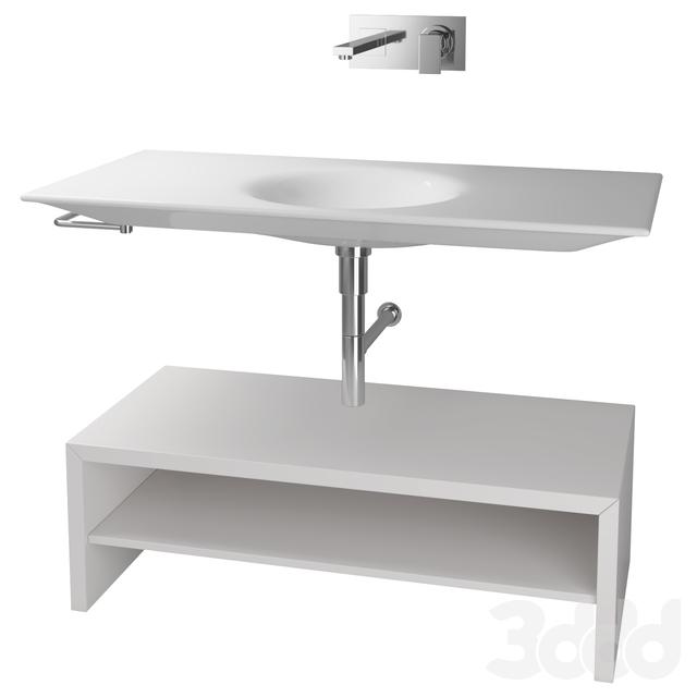 Roca - KALAHARI Wall Cabinet Sink