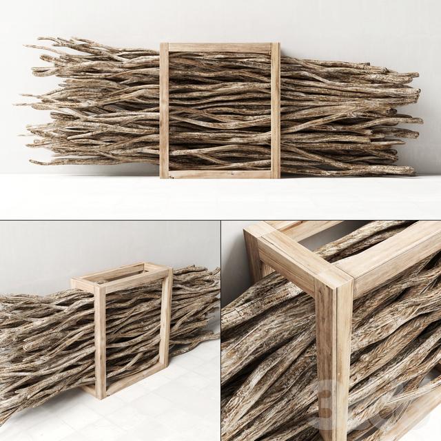 Firewood branch / Дрова из веток