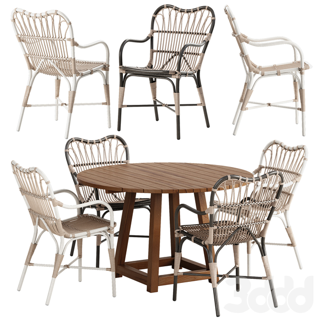 Sika Design Margret chair George table set