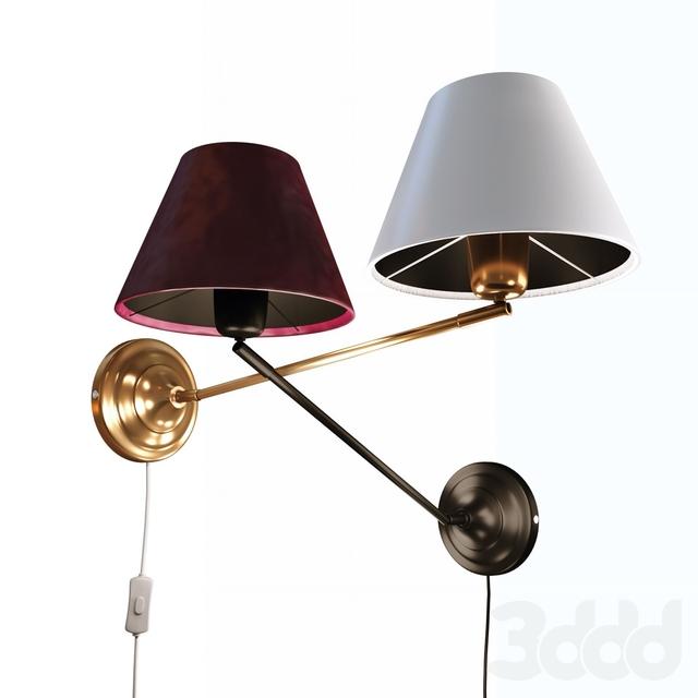 GARDA, настенный светильник от компании MARKSLOJD, Швеция.