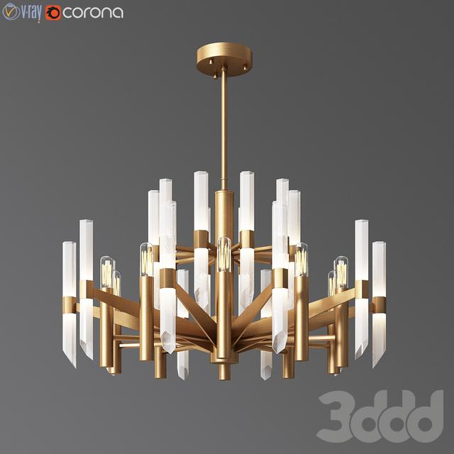 Nordic crystal chandelier