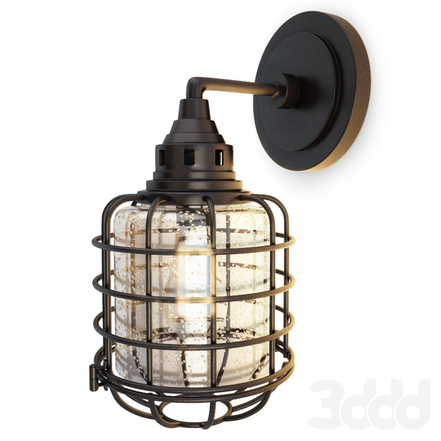 Industrial Wall Lamp Connell