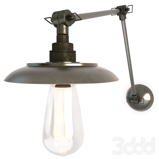 Industrial Wall Lamp Reznor