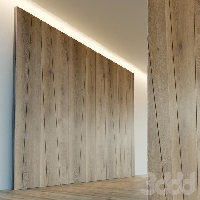 Декоративная стена. Стеновая панель из дерева. 11