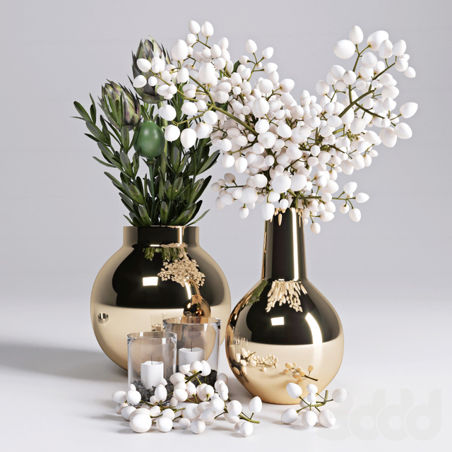 Ветки в вазе