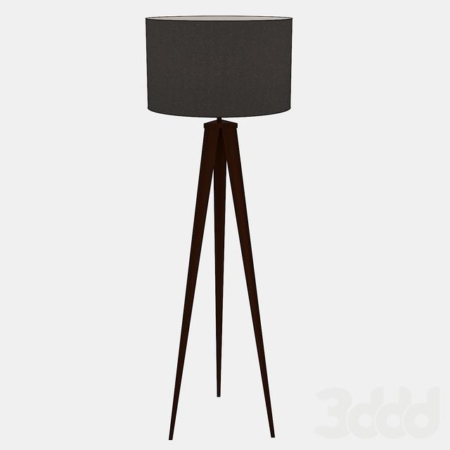 Director's Tripod Floor Lamp