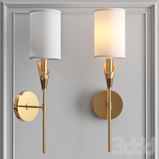 Настенный светильник Wall Sconce TATE 1311-AGB