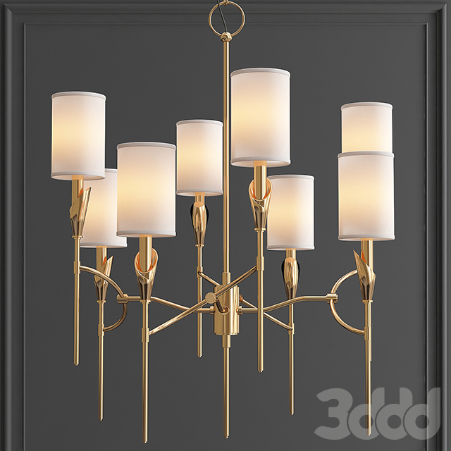 Люстра TATE Chandelier 1304-AGB