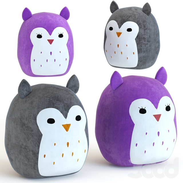 SQUISHMALLOW 16 Puff The owl