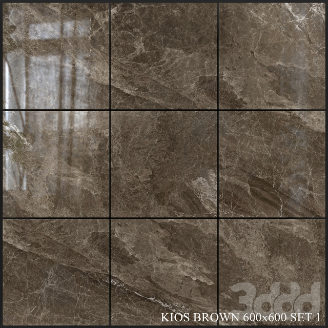 Yurtbay Seramik Kios Brown 600x600 Set 1