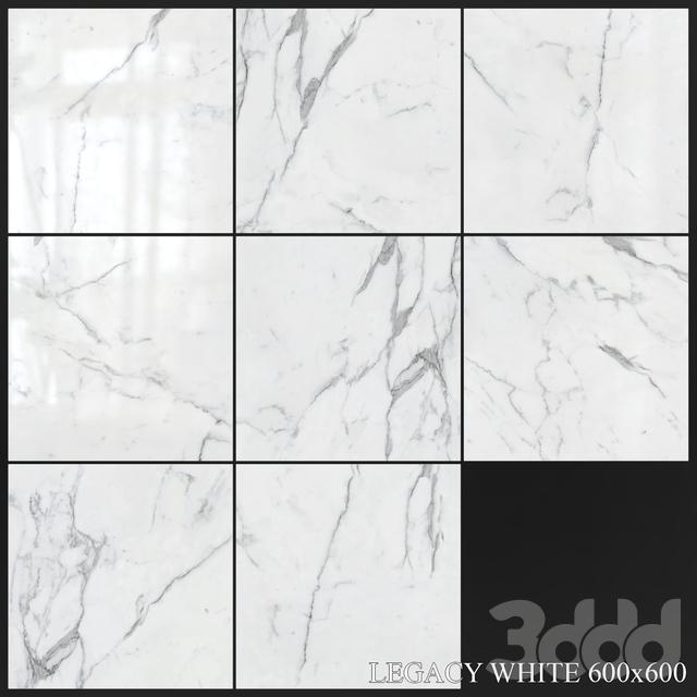 Yurtbay Seramik Legacy White 600x600