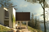 3D architectural visualization cottages. Germany