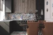 кухонька для таунхауса