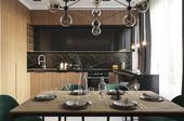 Кухня-гостинная