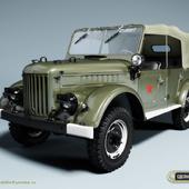 ГАЗ-69-68а армейский, парад