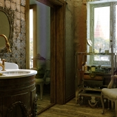 The Ghost Like Old Bathroom