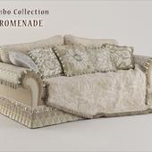 Jumbo Promenade LAС-43 3-seater sofa