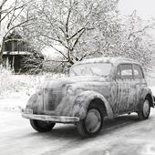 Opel Olympia OL38 Wehrmacht Winter
