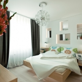 спальня мини квартиры