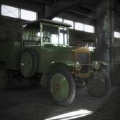 Старичок-грузовичок