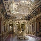 Малахитовый зал бароко