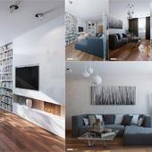 Гостиная \\\\ Дизайн и визуализация