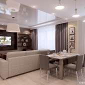 Частичный дизайн квартиры