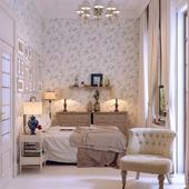 Гостевая спальная.