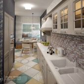 Кухня+гостиная