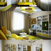 Casting Color Over Kids Rooms.