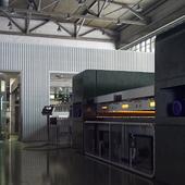 Производственная линия по ламинированию стекла